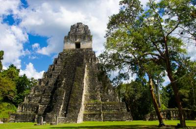 Much Of Tikal In Guatemala Is Still Buried