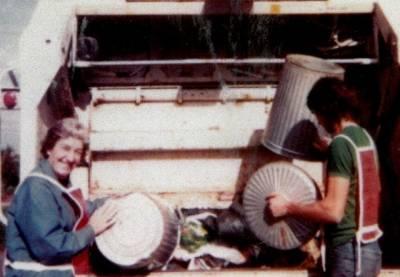Cynthia Hood - My day as a 'garbo' - part 2