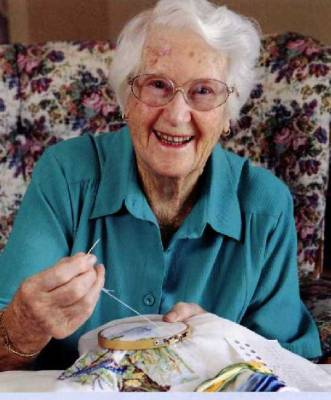 Embroidery - a lifelong interest
