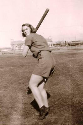 Marie Played Baseball