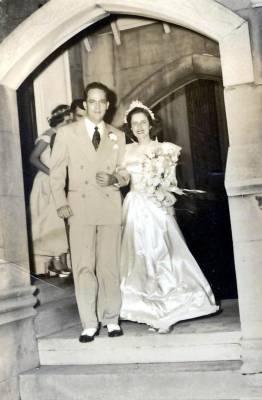 Memories of my parent's wedding